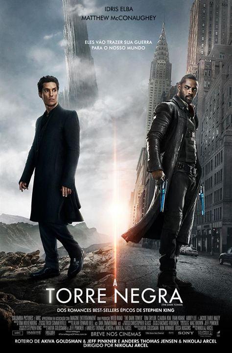 Resultado de imagem para a torre negra filme poster