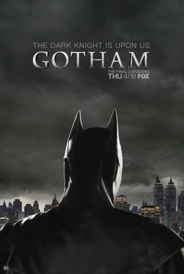 Gotham | Cartaz revela a aparição de Batman nos últimos episódios