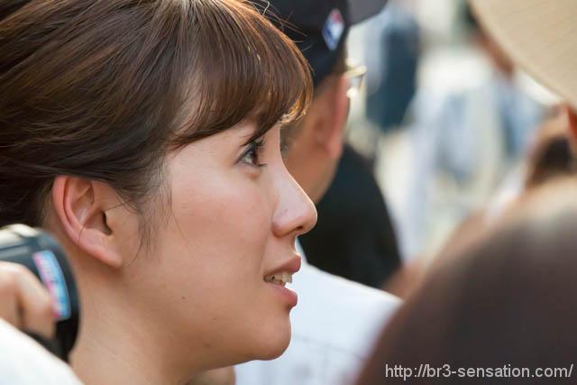 中国放送の吉田幸アナ