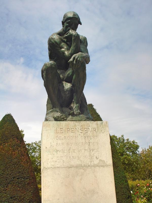 Auguste Rodin, pensador, Museu Rodin, Musee Rodin Paris