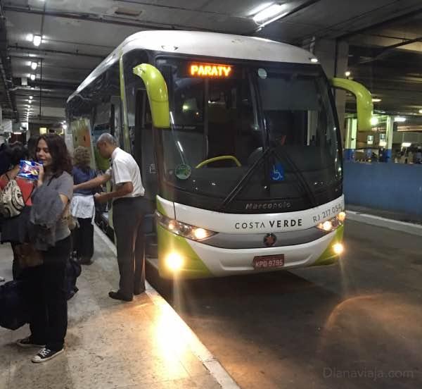 Ônibus Rio-Paraty
