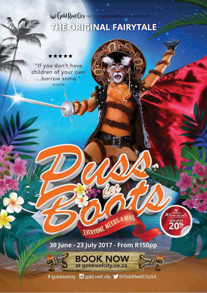 The Purrrfect Pantomime Adventure coming soon to The Lyric @ Gold Reef City