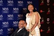 Caphius Semenya and Letta Mbuli