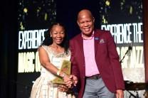 Letta Mbuli and Mncedisi Ndlovu