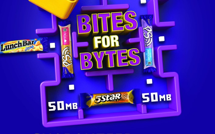 The more you bite, the more bytes you can GET with Cadbury!