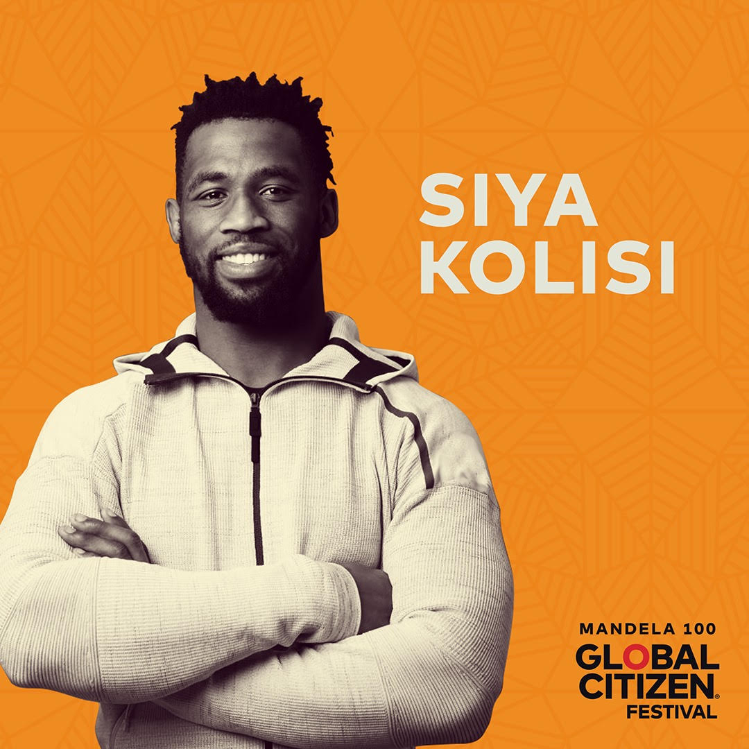 Siya Kolisi announced as Global Citizen: Mandela 100 Advocate with key focus on Hunger & Nutrition