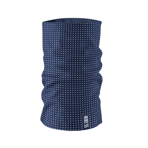 Neck Tube Polka Dot Blue