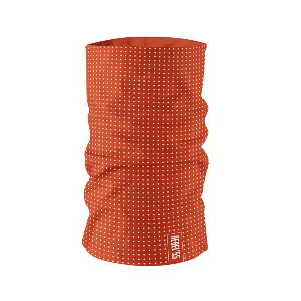 Neck Tube Polka Dot Red