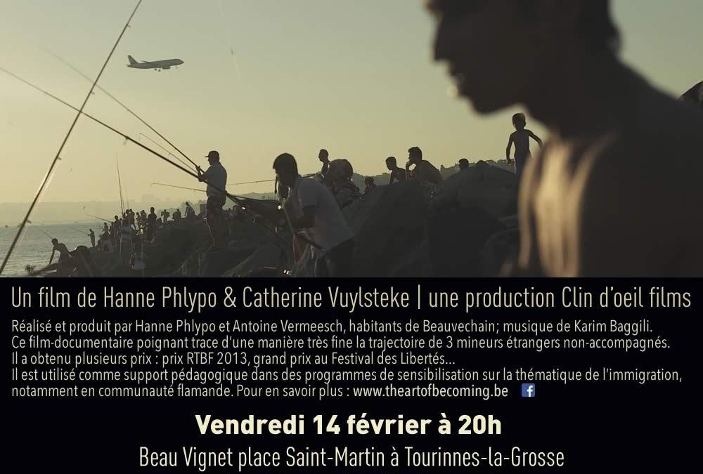 Projection du film «The art of becoming» à Beauvechain Le 14/02