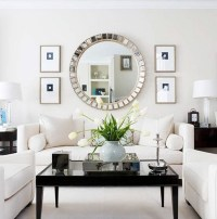 12 Brilliant Ideas for decorating with large wall mirror