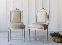 6 beautiful vintage dining room chairs