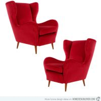 8 Modern Wingback Chair For A Sophisticated Living Room