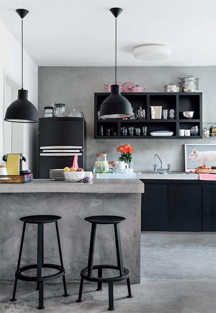 modern kitchen stools height of bar for counter 8 ideas kitchens 6