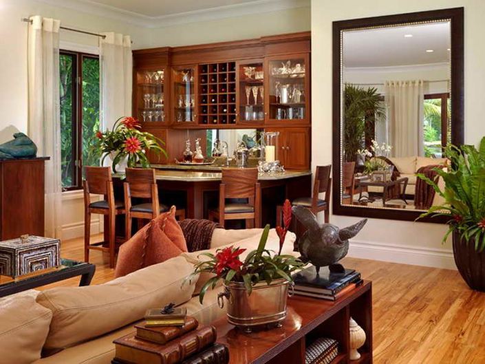 large living room wall mirrors best paint color for with dark brown furniture how to decorate a mirror 3