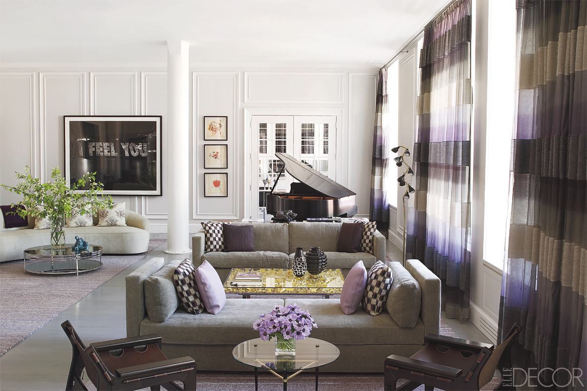 elle decor best living rooms vaulted ceiling ideas room modern home projects by