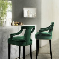 Emerald Green Velvet Chair Behind The Promo Code Breakfast Bar Stools Solutions For High Budget Design