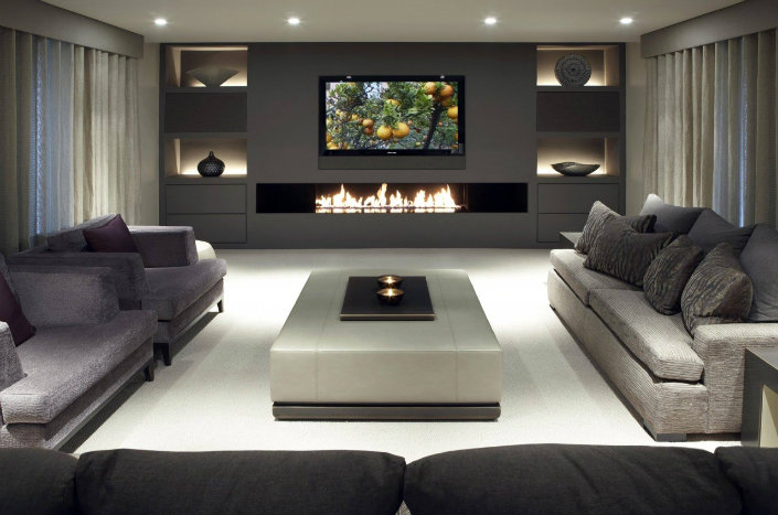 living room furniture ideas arranging with corner fireplace 5 more contemporary to apply now