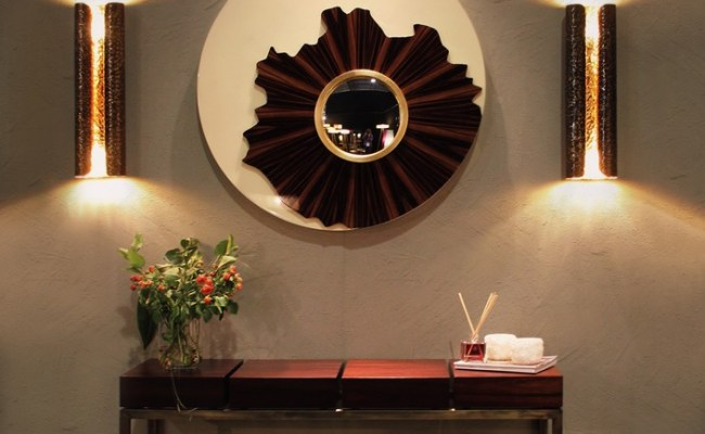 Modern Living Room 8 Wooden Mirror To Have In 2015 6