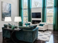 2015 Summer Trend: Living Room Furniture in Turquoise