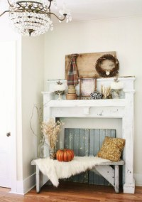 FALL DECORATING IDEAS ON PINTEREST FOR YOUR HALLWAY