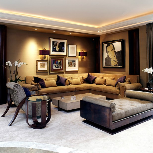 Top 100 interior design firms uk for Famous interior designs