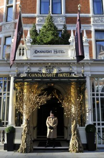 Luxurious Hotels With Christmas Window