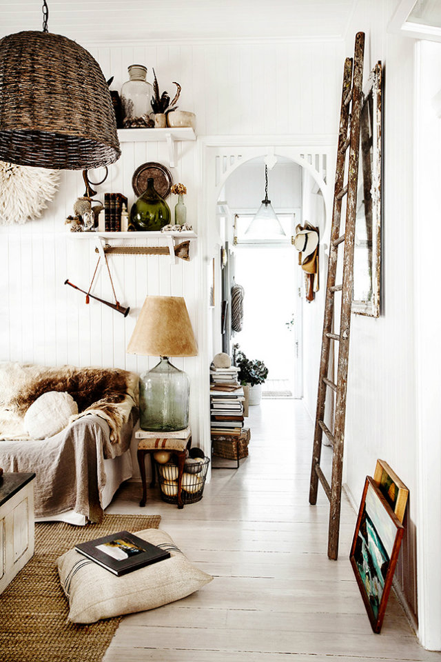 Boho Interior Design Rustic