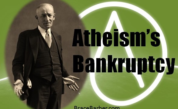 Atheism's Evidential Bankruptcy