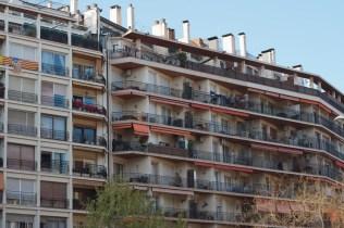 바르셀로나의 아파트?