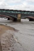 템즈강. 흡사 해변같다.