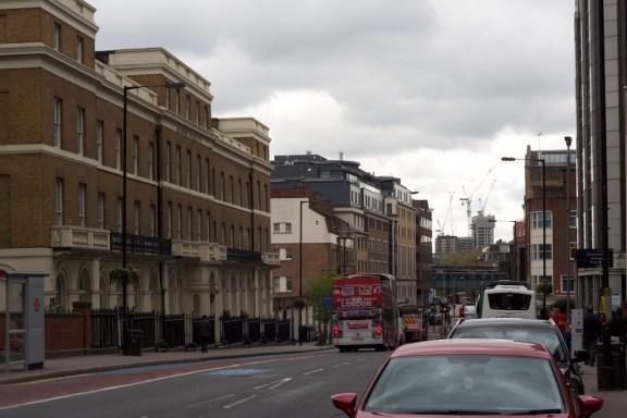 런던의 거리