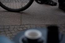 지나가는 자전거