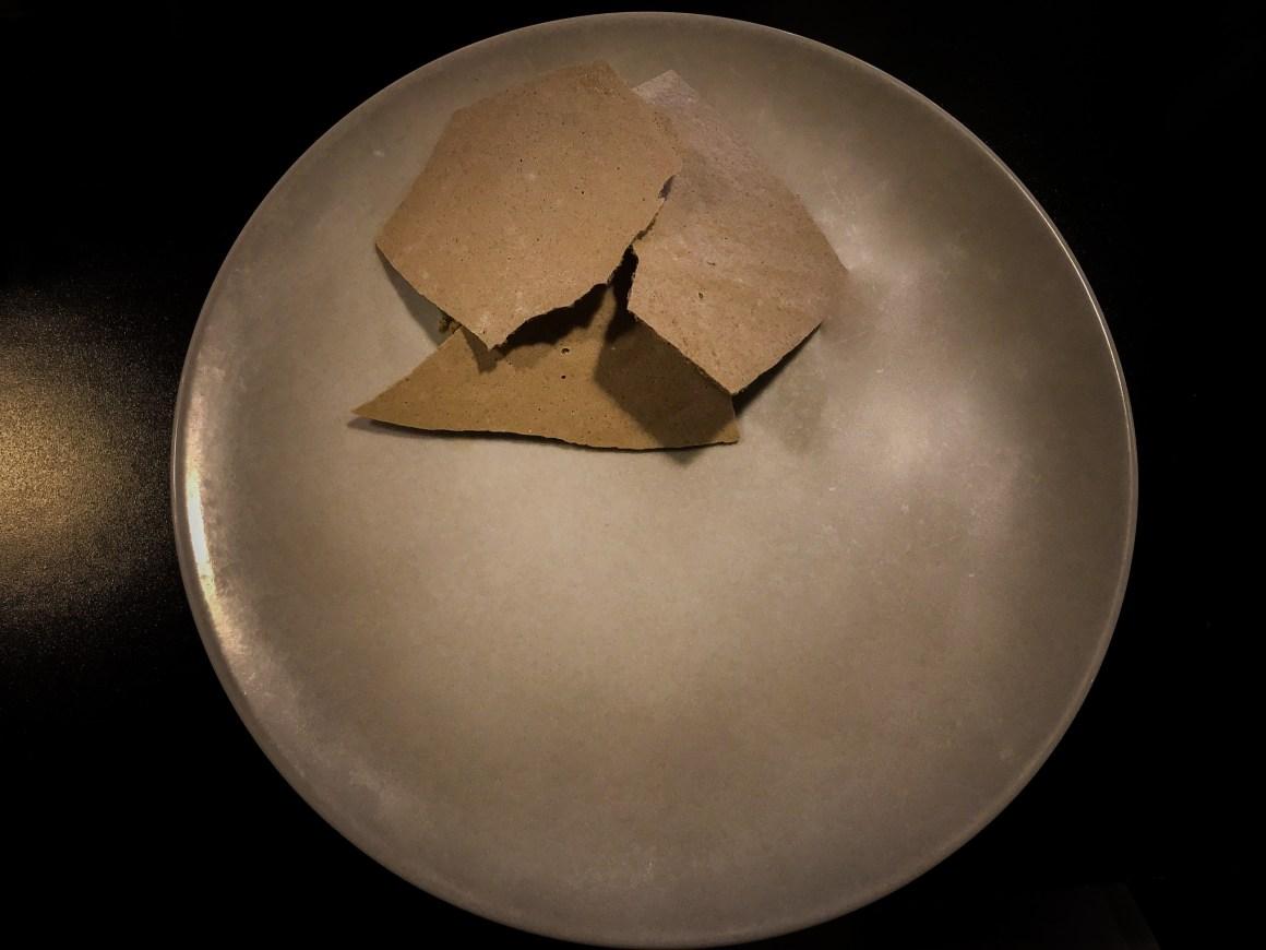Mushroom meringue at Journeyman's Food & Drink
