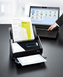 "The Fujitsu ScanSnap iX500 scanner is a ""must have"" if you wish to go paperless. A big part of using QBO"