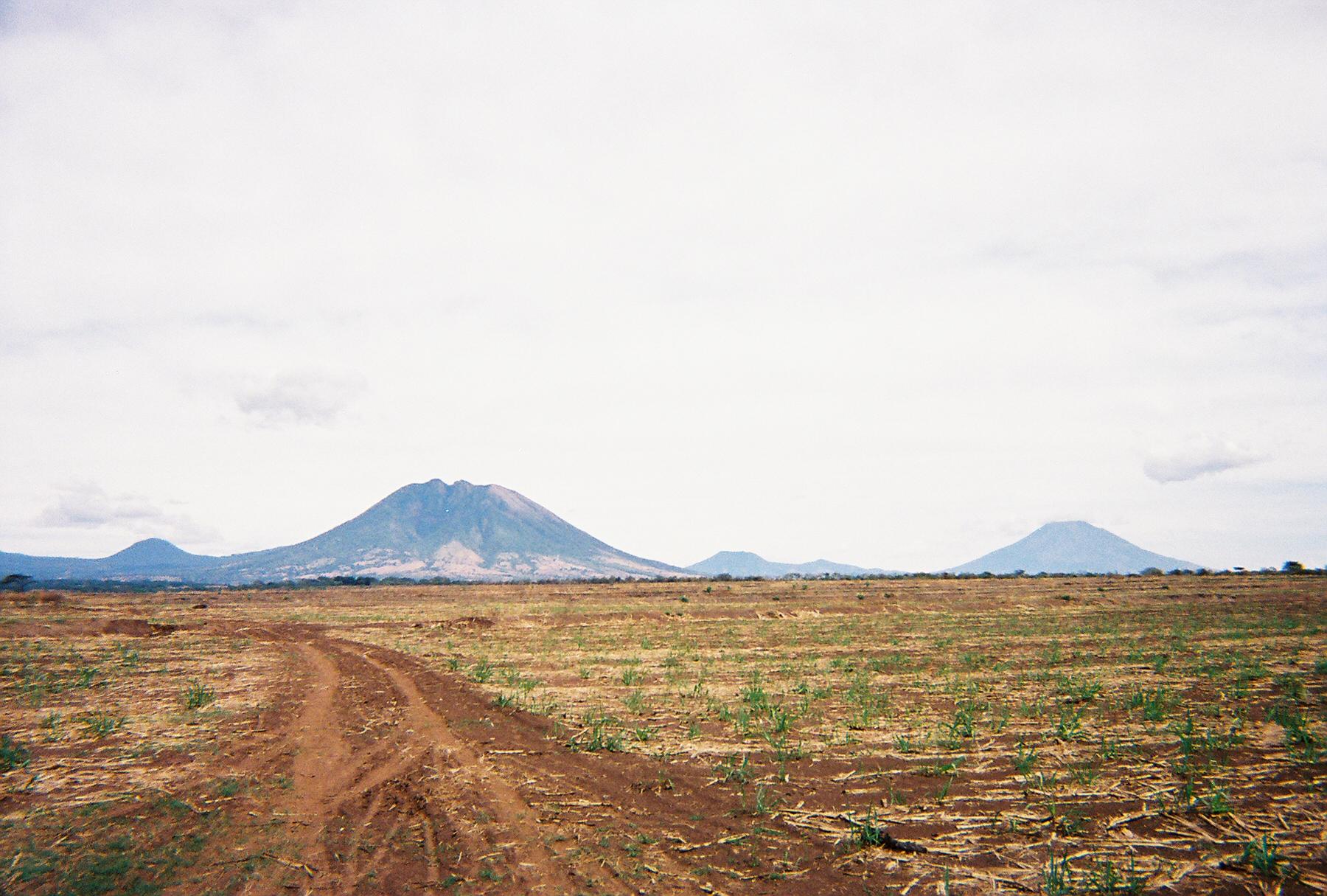 The countryside of El Salvador