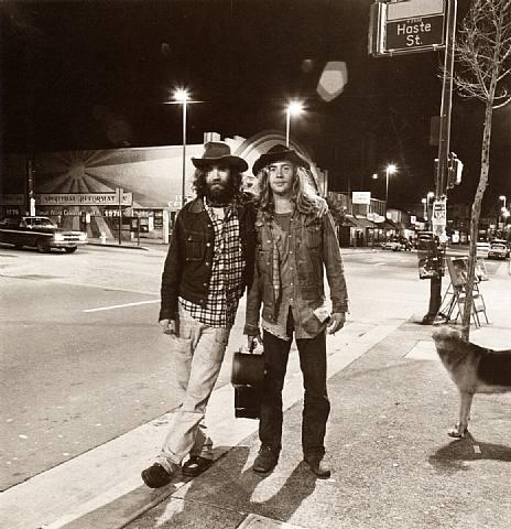 Street Musicians on Telegraph Avenue in 1974. Photo by Richard Misrach.