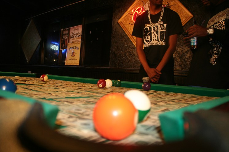 Braddy and Butch – ATTENTION – Pool Table Scene (14)