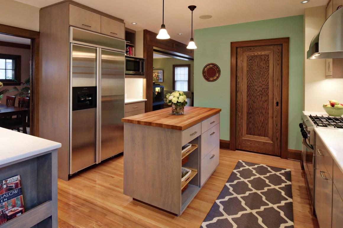 minneapolis kitchen renovation 1930's bungalow residence