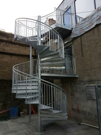 Steel Fabricators of Balconies, Staircases. Spiral