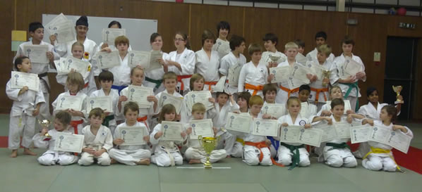 Competitors at the 2010 Junior Champioship (South)
