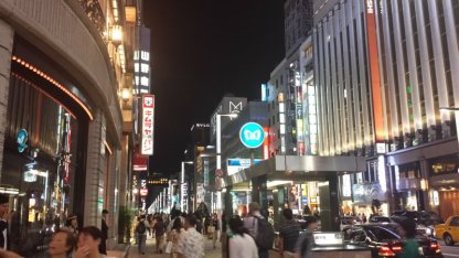 Toyko By Night