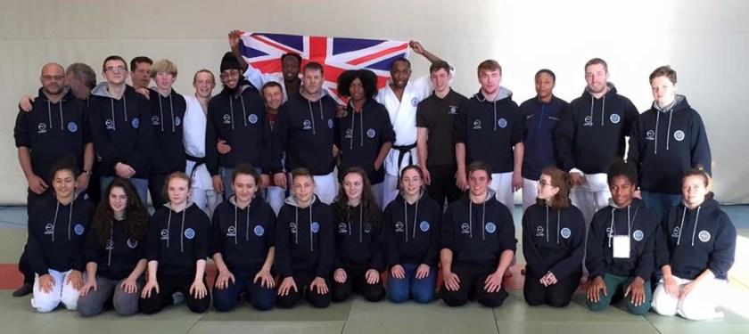 UK BA Team Photo, Aikdo World Championship