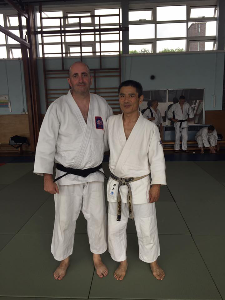 Yoshiomi Inoue with Garrett at 2016 Summar School