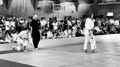 Another ippon for the World Champion