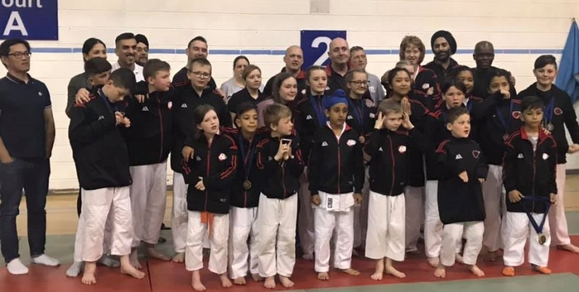 Bradfor Aikido Juniors at the 2019 National Championship