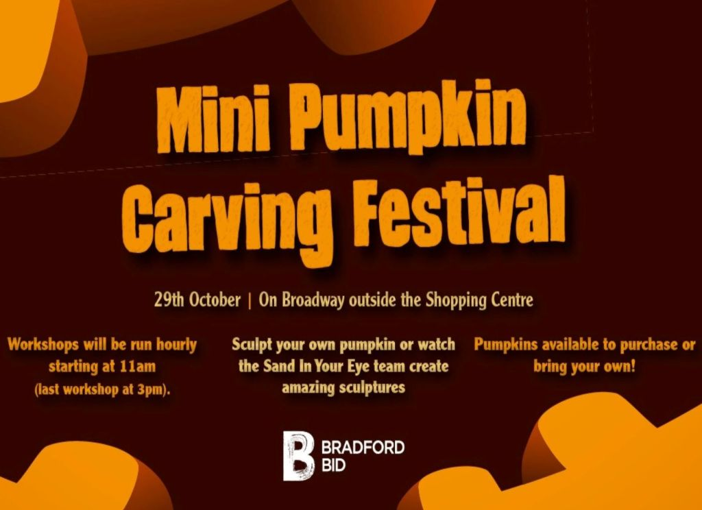 Mini Pumpkin Carving Festival – 29th October 2019
