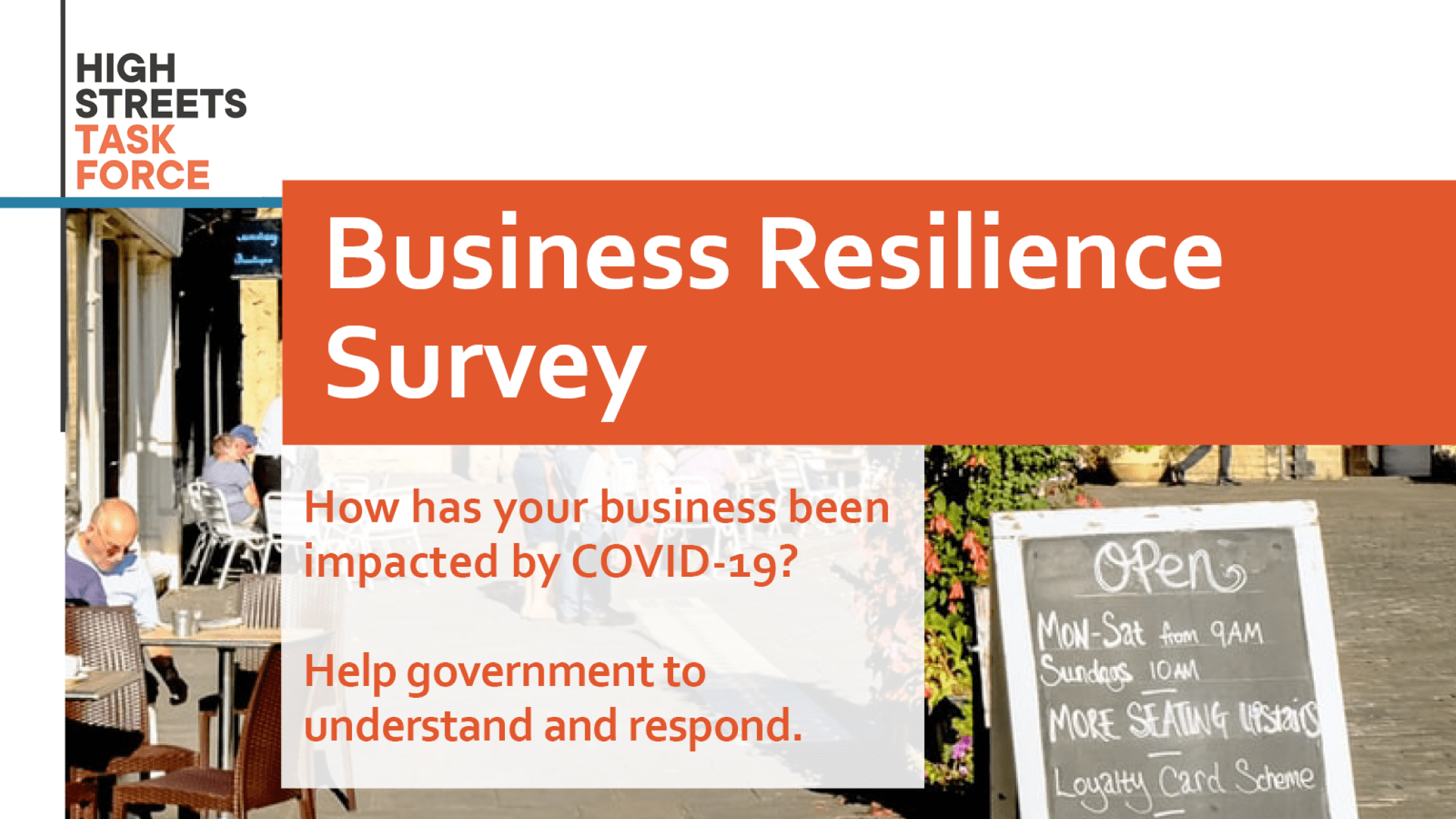 COVID-19 BUSINESS RESILIENCE SURVEY