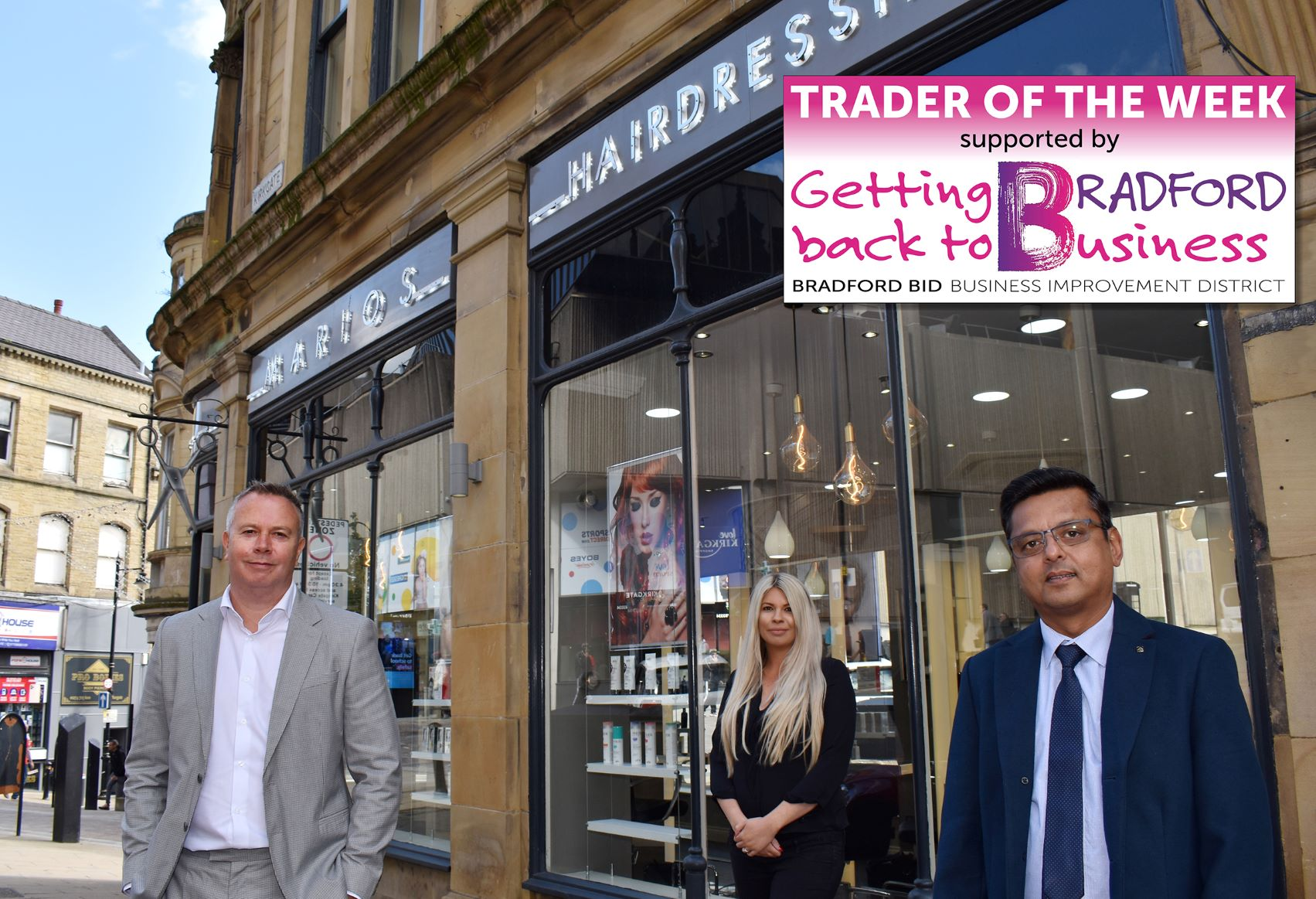 Trader of the Week – Marios Hairdressers
