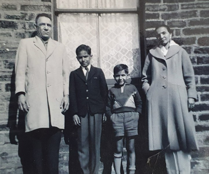 Family Unit. The family became a more visible unit following 1962. The picture here is from 1961, and follows the arrival of Akbal Singh Kang and his brother with Sarwan Singh and Bibi Parkash Kaur into 53 Mildred Street, Bradford.