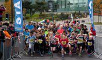 Bradford City Runs 2015 kids run start of the race